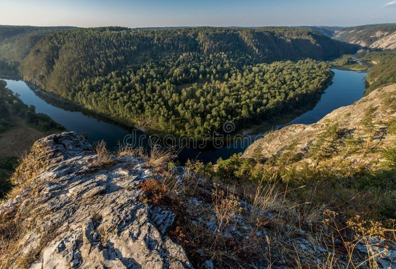 Whitet River arkivbild