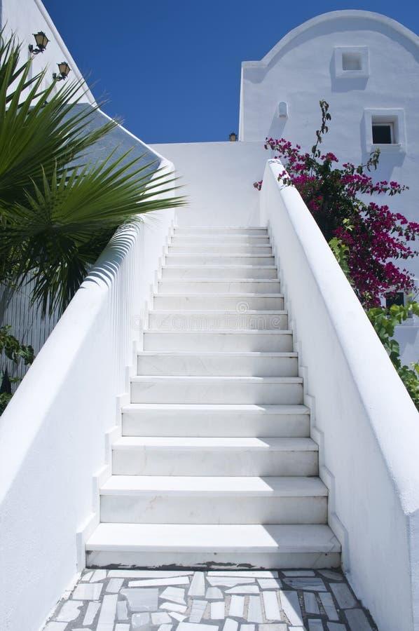 Whitewashed Steps Stock Photos