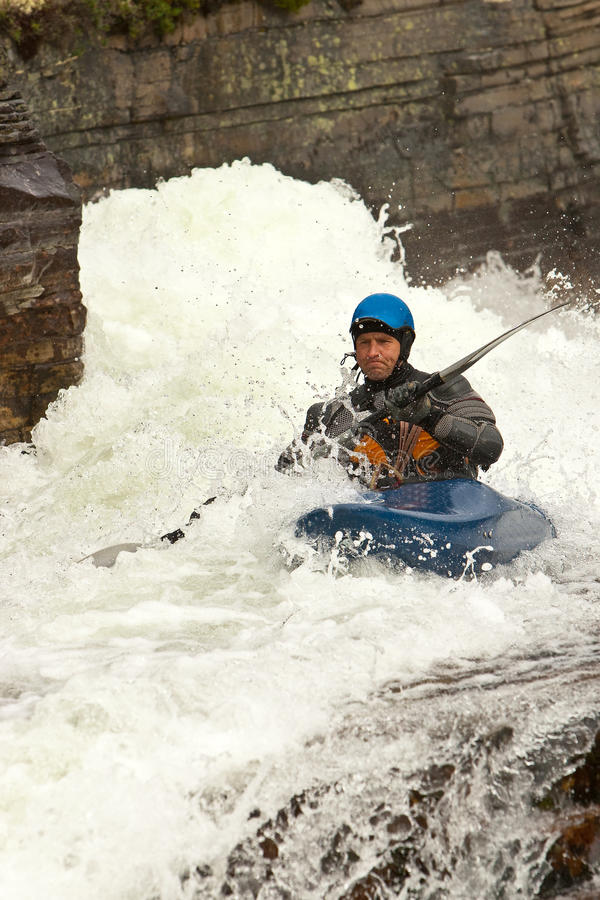 Whitewater photographie stock