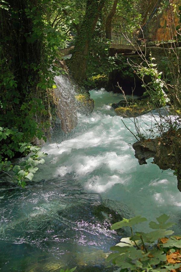 Whitewater des Duden-Flusses lizenzfreies stockbild