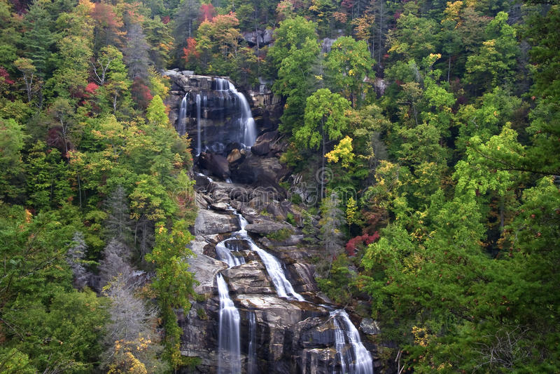 Whitewater Falls stock image