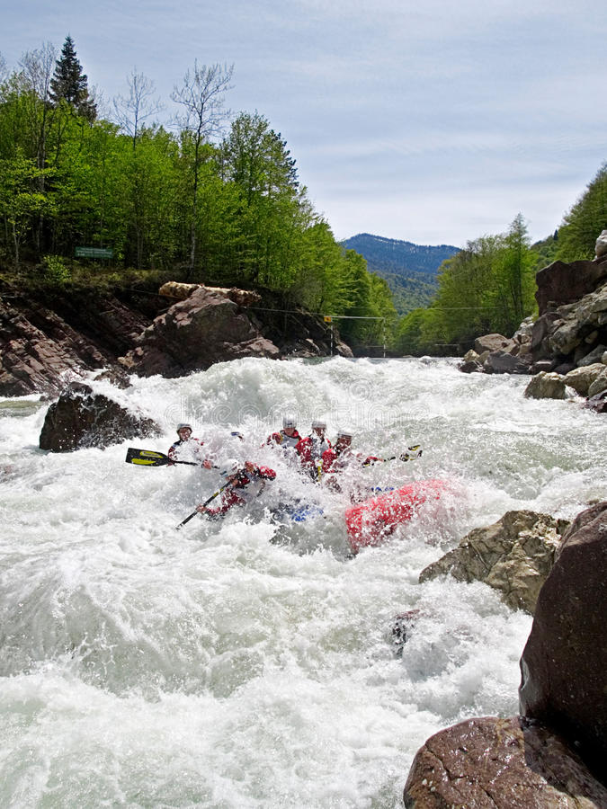 Download Whitewater Rafting Editorial Stock Image - Image: 17417364