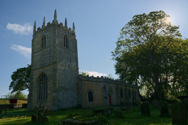 Whitgift, equitação do leste de Yorkshire St Mary Magdalene Church foto de stock royalty free