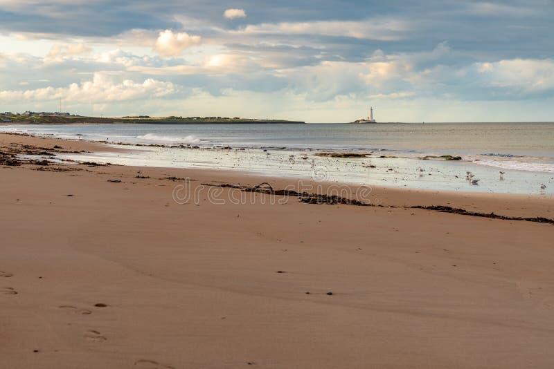 Whitley piaski, Anglia, UK obraz stock