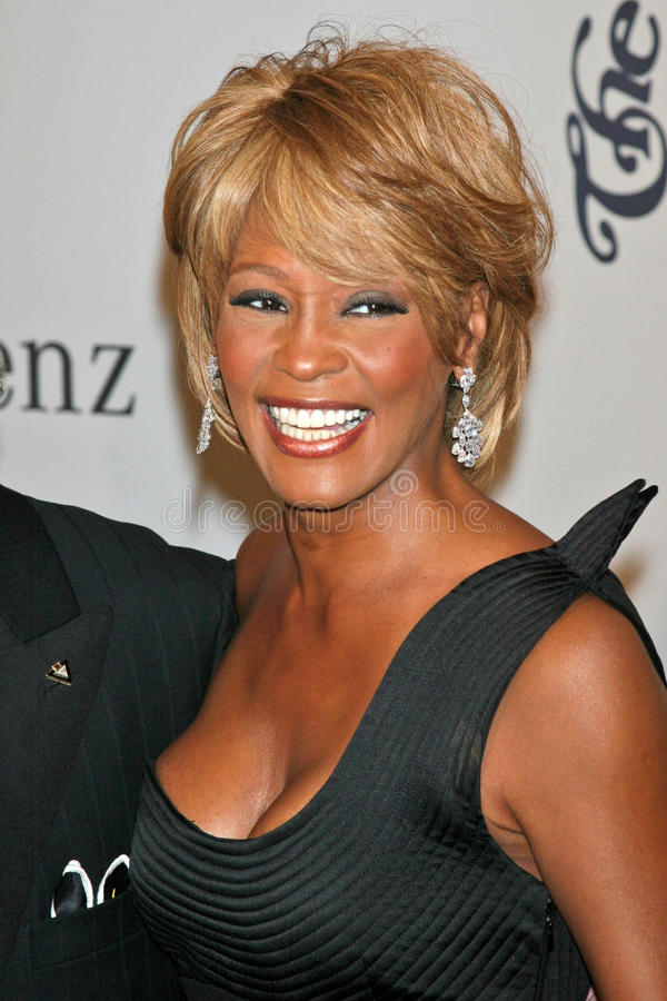 Whitney Houston immagine stock libera da diritti