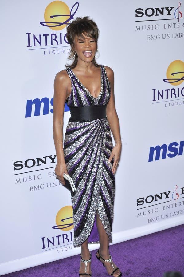 Whitney Houston royalty-vrije stock afbeeldingen
