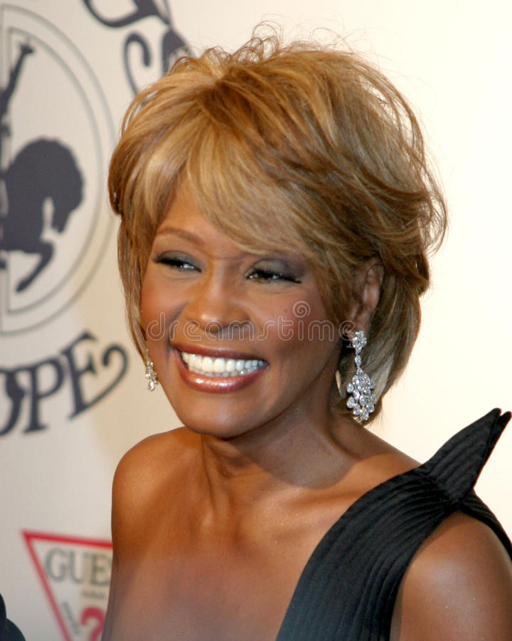 Whitney Houston stock afbeeldingen