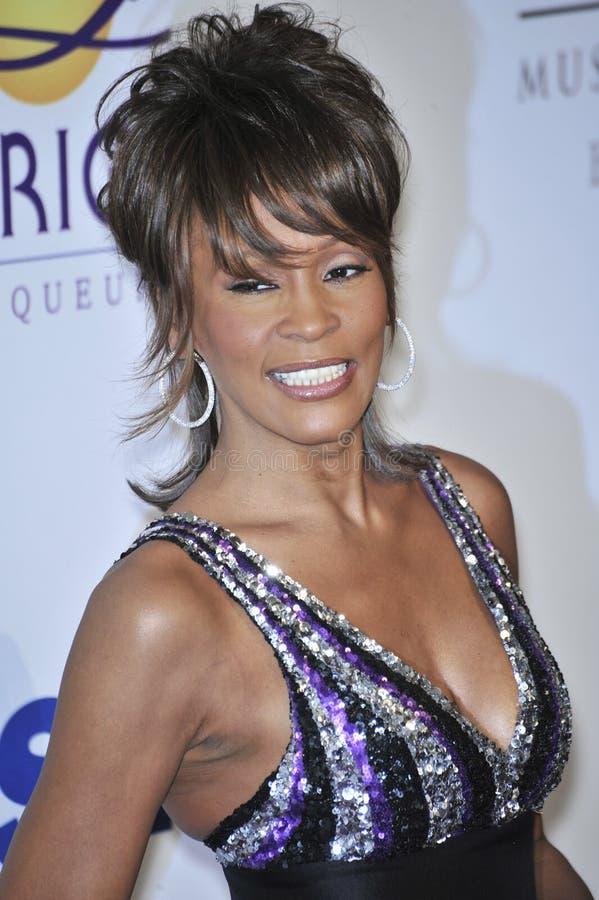 Whitney Houston stock image