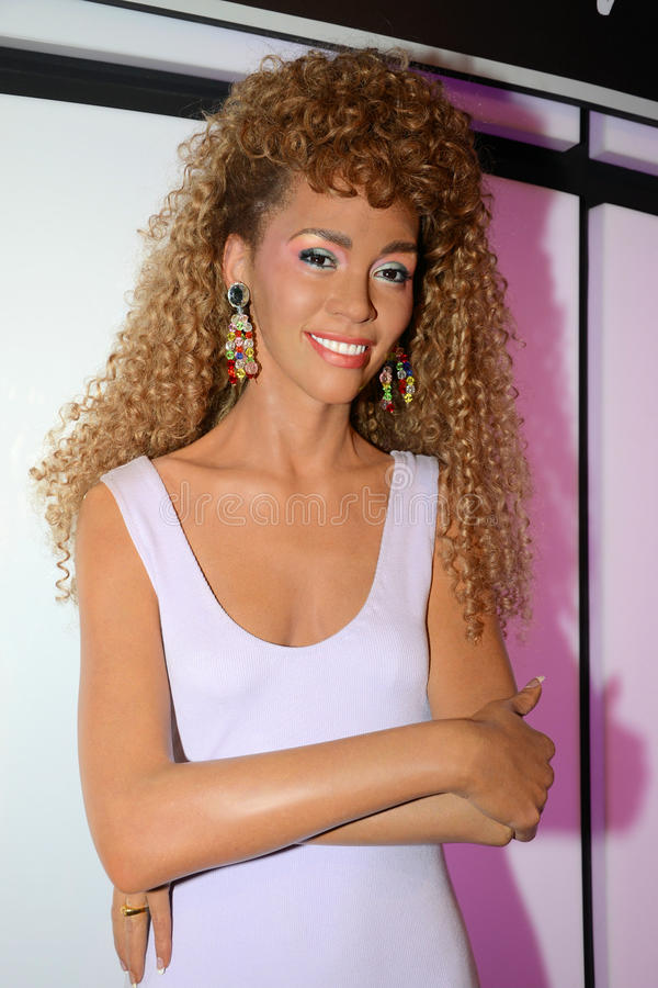 Whitney Houston stock foto's