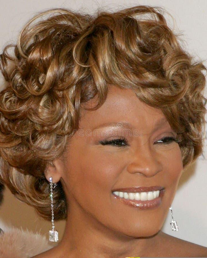 Whitney Houston, Clive Davis photos stock