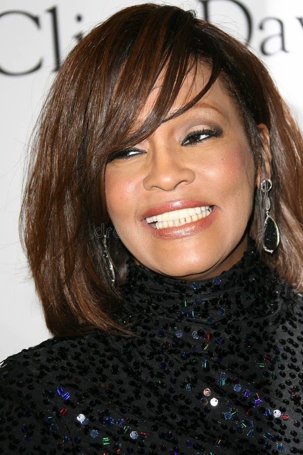 Whitney Houston royaltyfri fotografi