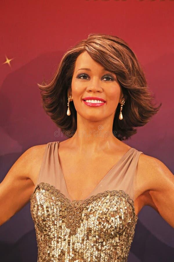 Download Whitney Houston Wax Figure Editorial Stock Photo - Image: 29097813