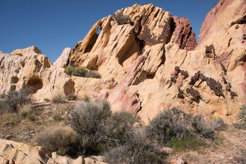 Whitney kieszeń, Nevada, usa obrazy royalty free