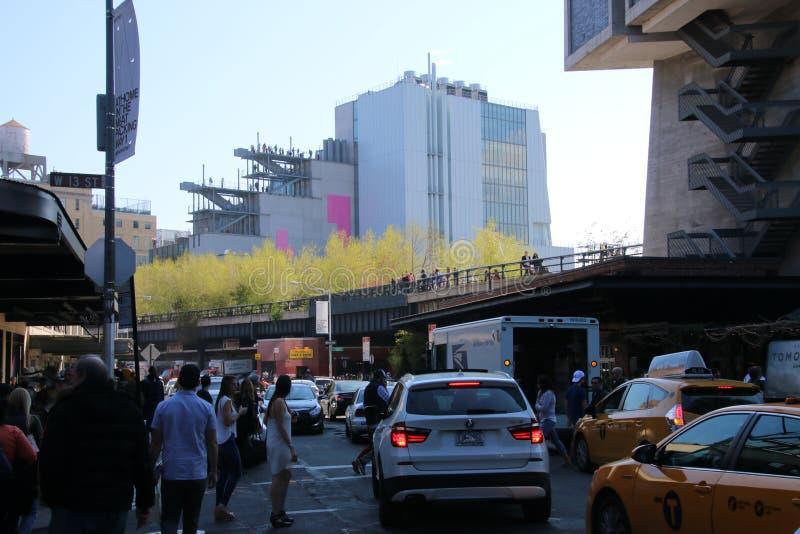 Whitney Museum royaltyfria bilder