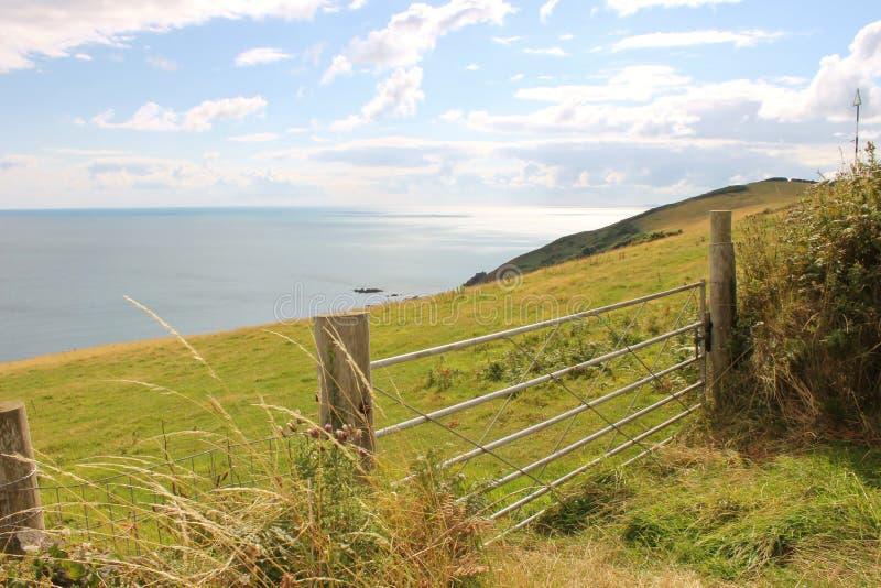 Whitsand-Bucht Cornwall stockbilder