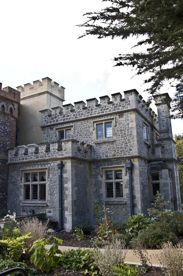 Download Whitstable Castle stock image. Image of home, gathouses - 26690549