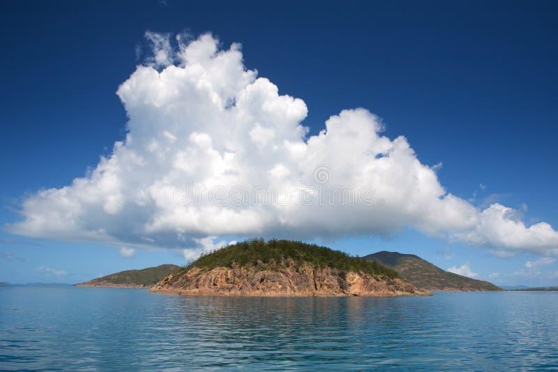 whitsunday的海岛 免版税图库摄影