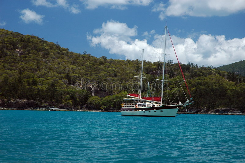whitsunday öar royaltyfri bild