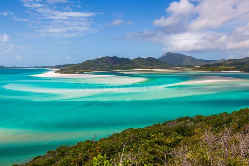 whitsunday öar arkivbilder