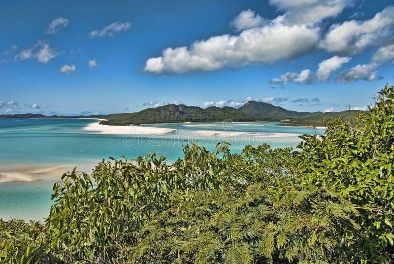 Whitsunday öar nationalpark, Australien royaltyfria foton