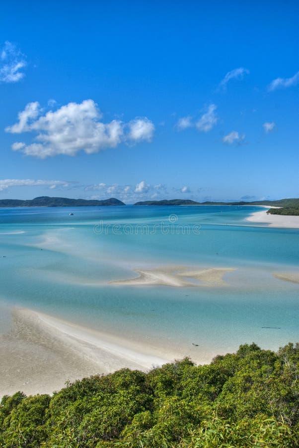 Whitsunday öar nationalpark, Australien arkivbilder