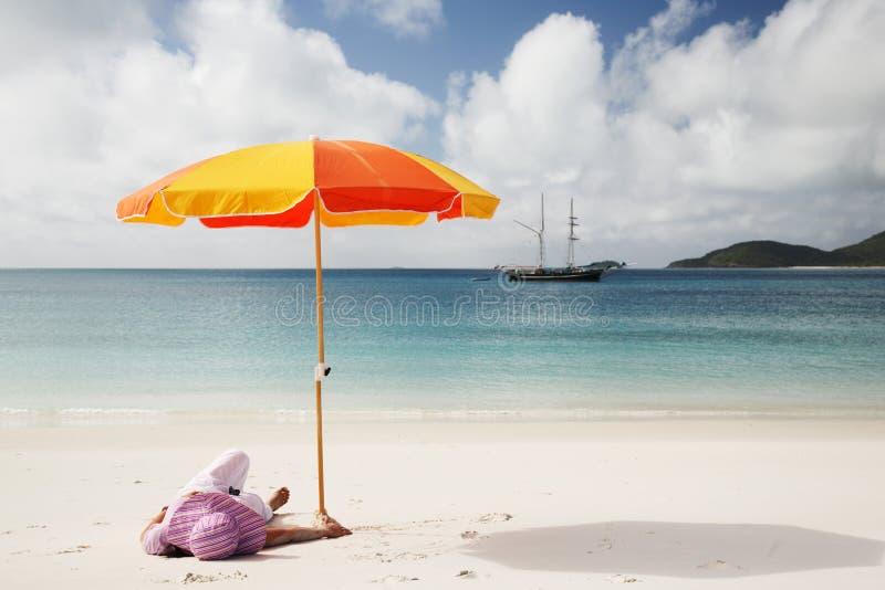 Whitsunday calmo fotografia de stock