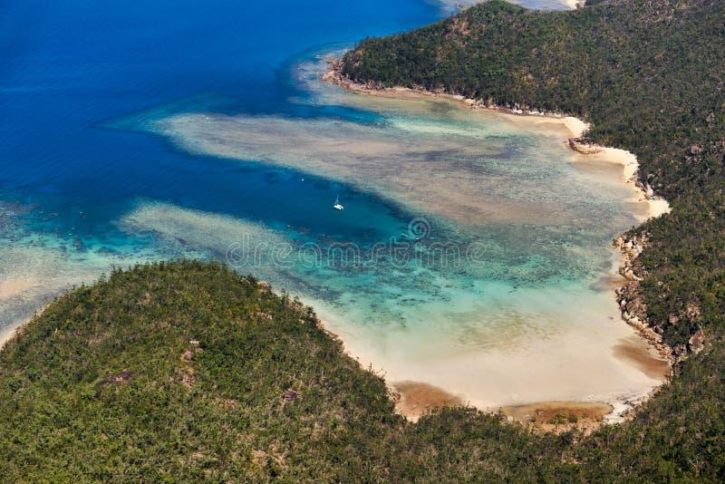 Whitsunday Island. Australia. Whitsunday Island, Queensland, Australia. Barrier Reef stock images