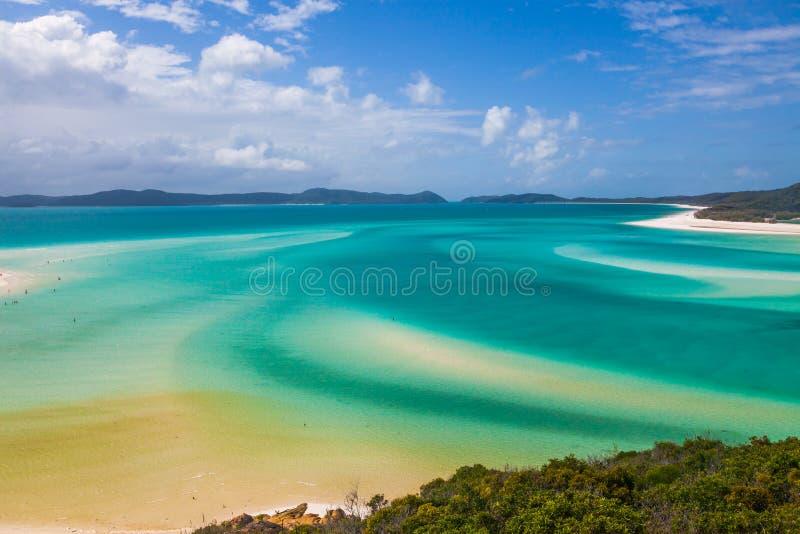 Whitsunday wyspy nabrzeżne nawadniają zdjęcia stock