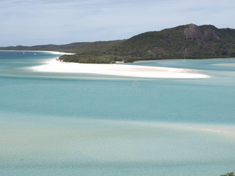 Whitsundays澳大利亚 库存照片