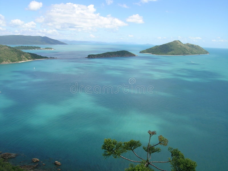 Whitsundays stockfotografie