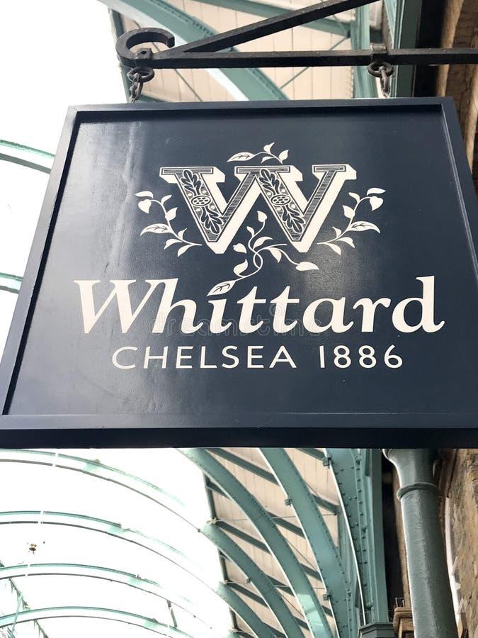 Whittard sklep fotografia stock