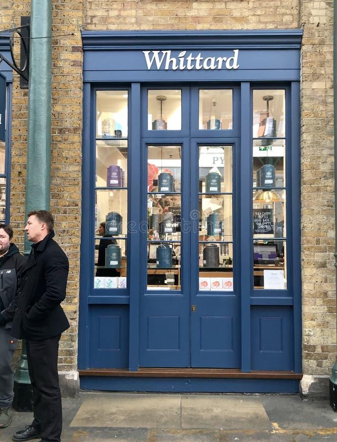 Whittardopslag stock fotografie