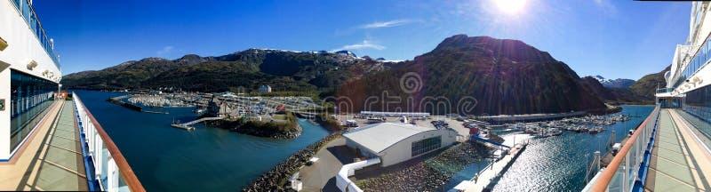 Whittier Alaska stock image