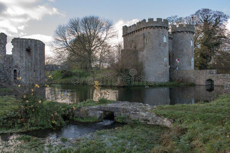 Whittington slott royaltyfria foton