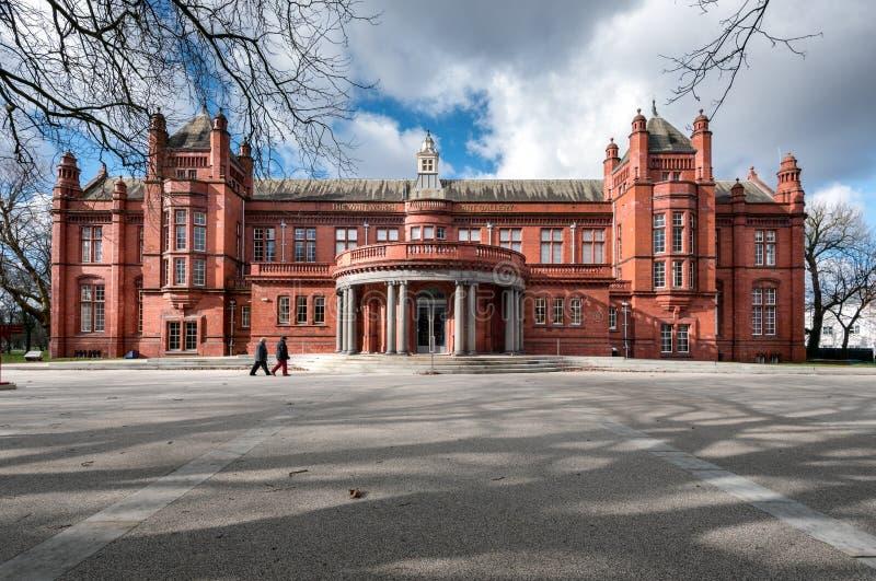 Whitworth Art Gallery Manchester Regno Unito immagini stock libere da diritti