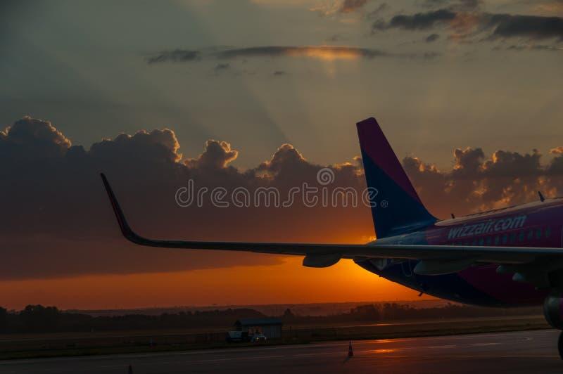 Whizzing sunrise stock images