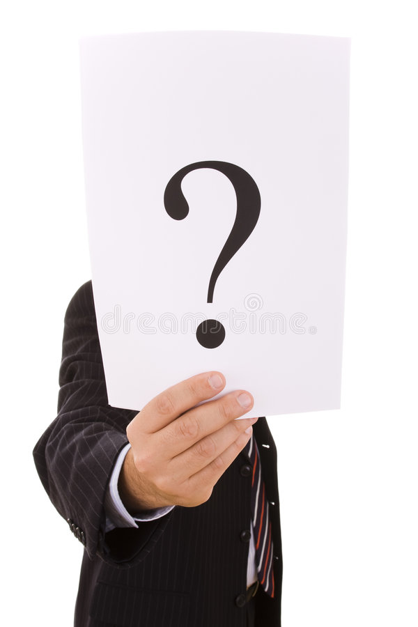Who Is This Businessman Royalty Free Stock Photos