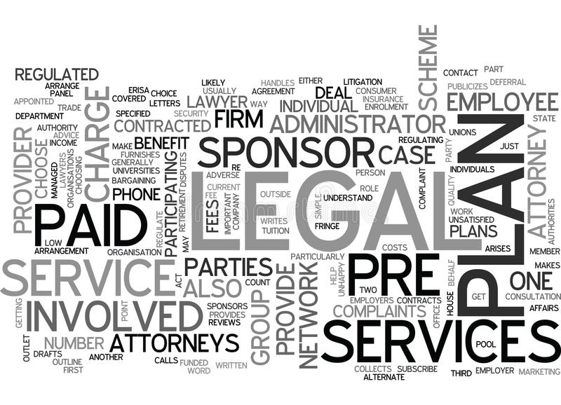 Who Is Involved In Legal Services Word Cloud royalty free illustration