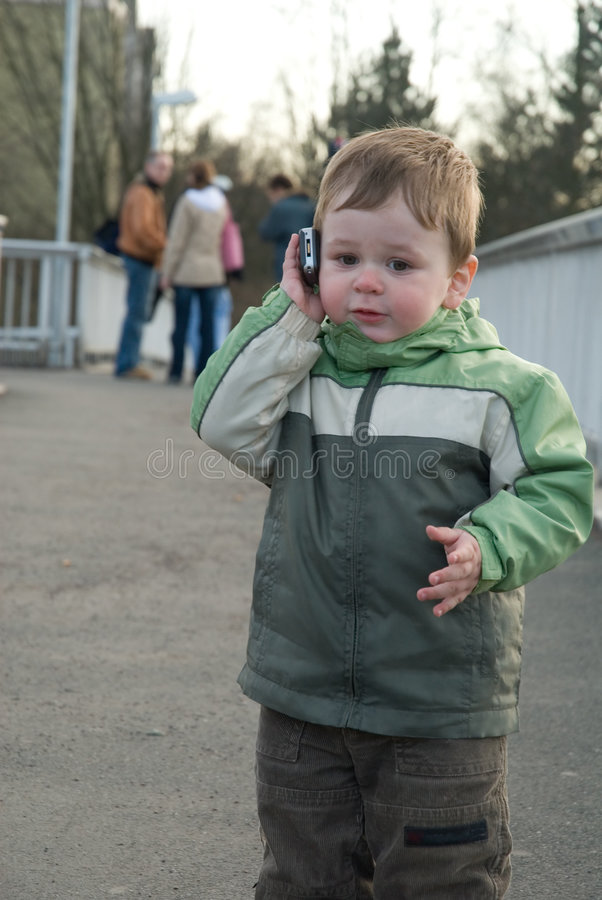 Download Who's calling stock image. Image of conversation, holding - 695985