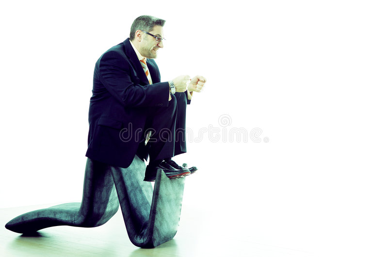 Who or What is Driving Your Business stock photo