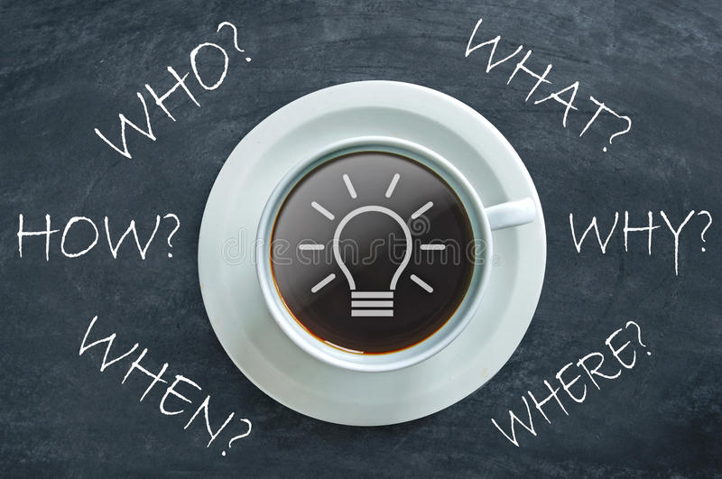 Download Who, What, When, Where, When, How, Questions Stock Photo - Image of learn, where: 73700948
