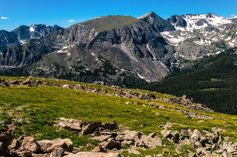Rock Cut 1 Rocky Mountain National Park royalty free stock image