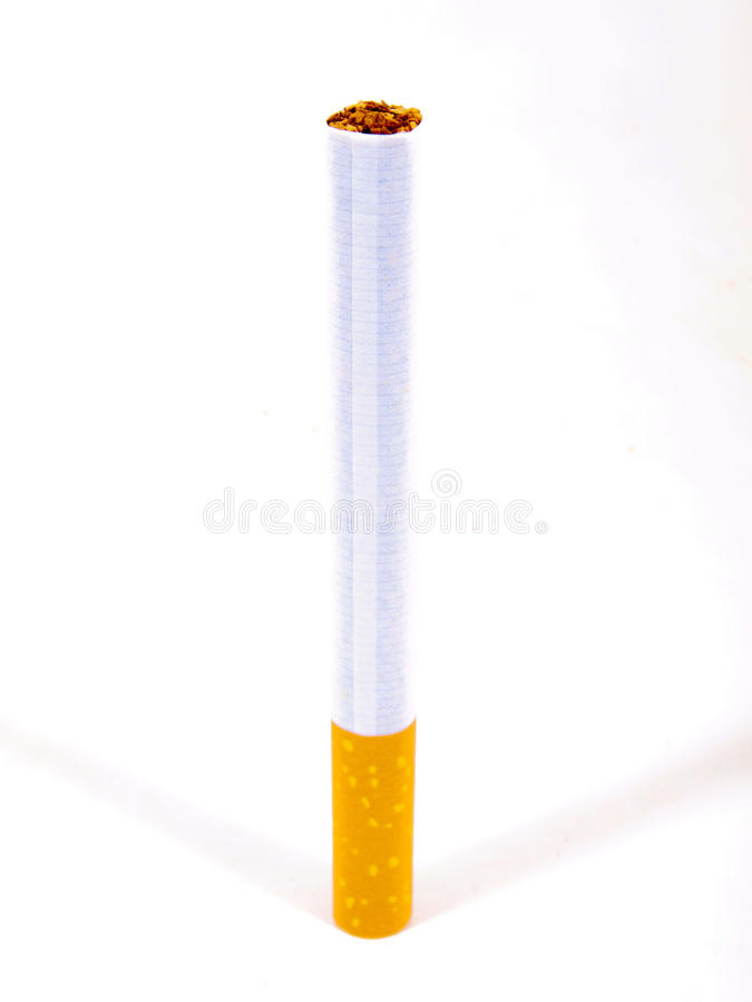 Whole cigarette royalty free stock photos