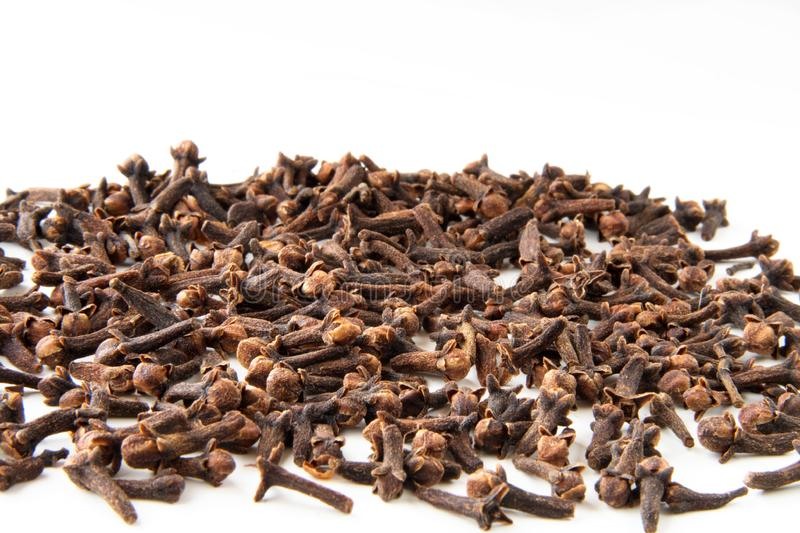 Whole cloves spices stock photo
