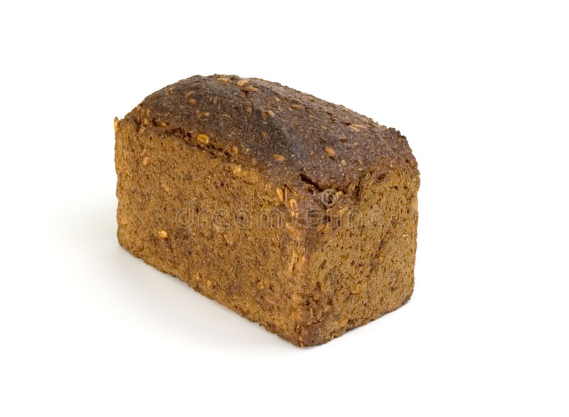 Download Whole-grain dark bread stock image. Image of macro, dinner - 4545753