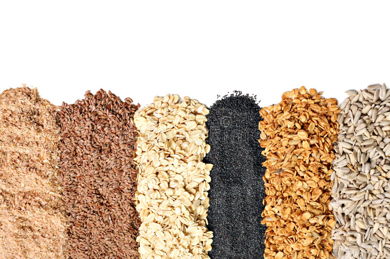 Whole grains royalty free stock image