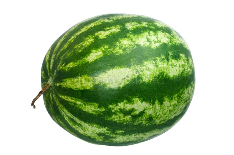 Watermelon isolated on white background royalty free stock photos