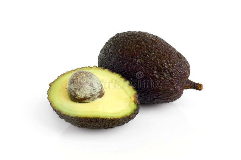 Download Whole and half avocados stock photo. Image of cookery - 19760018