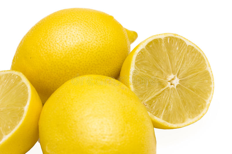 Download Whole and halved lemons stock image. Image of nutritional - 11794217