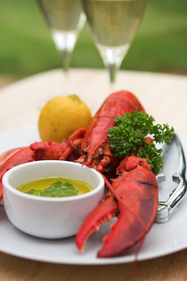 Whole Lobster - shallow dof royalty free stock photo